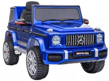 Mercedes Benz G63 AMG Jeep G Wagon Blue Official Licensed 12v Electric Ride on Car